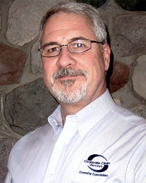 Jeffrey Cobb, Owner of Corporate Clean Services