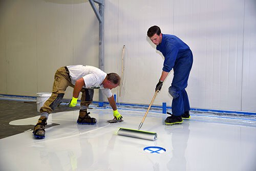 Epoxy Preparation floor care in Grand Rapids, MI