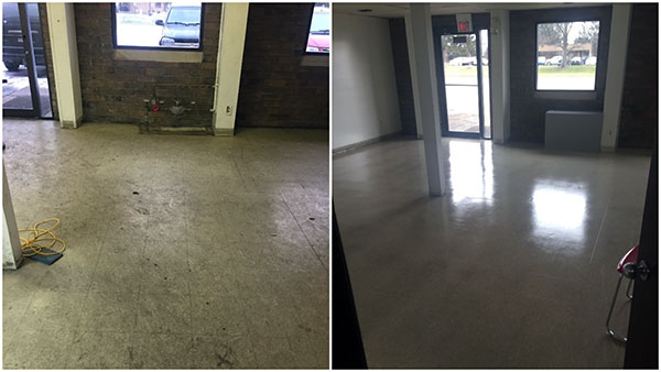 Floor Stripping and hard floor care in the Grand Rapids area